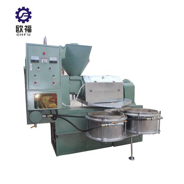 Automatic Plant Extracting Olive Castor Expeller Palm Seed Mustard Press Extraction Machine Oil Mill Machinery