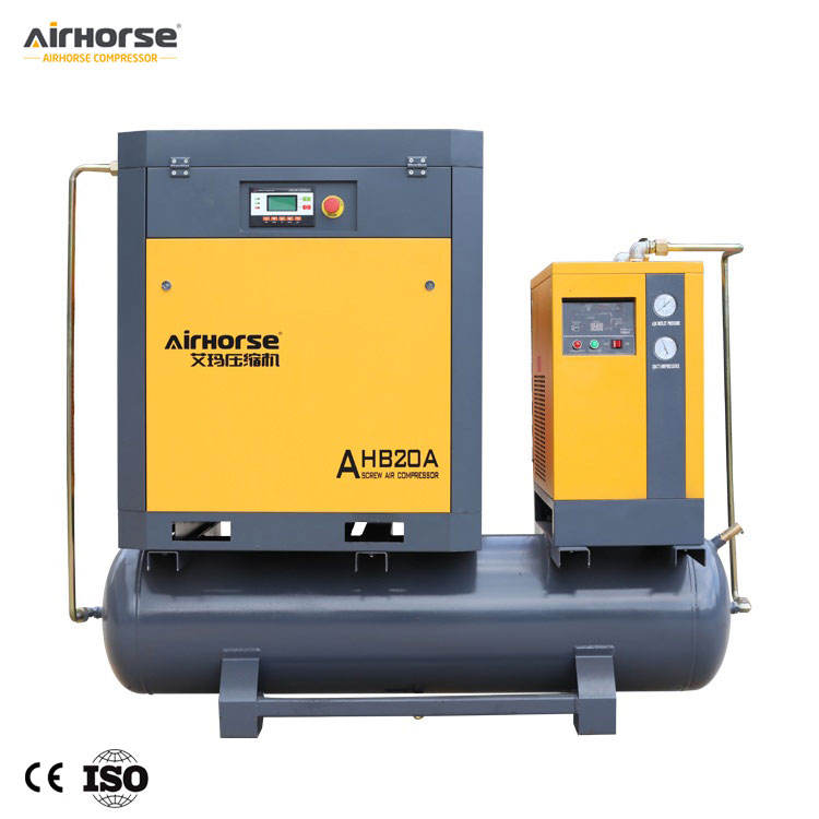 Industrial Rotary 20HP Energy Saving and Low Noise Screw Air Compressor