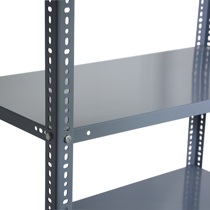 Warehouse Slotted Angle Storage Rack System