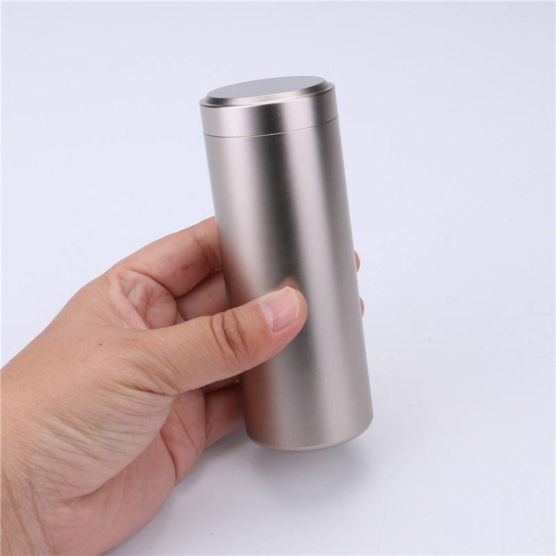 tea metal can tin box with custom printing laser logo