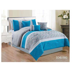 7 Piece Light Weight Microfiber Bed-In-A-Bag Comforter Beddi