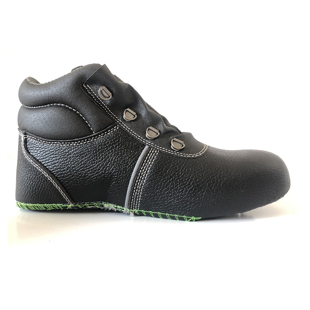 Genuine Leather Upper For Safety Shoes Safety Work Boots With Steel Toe