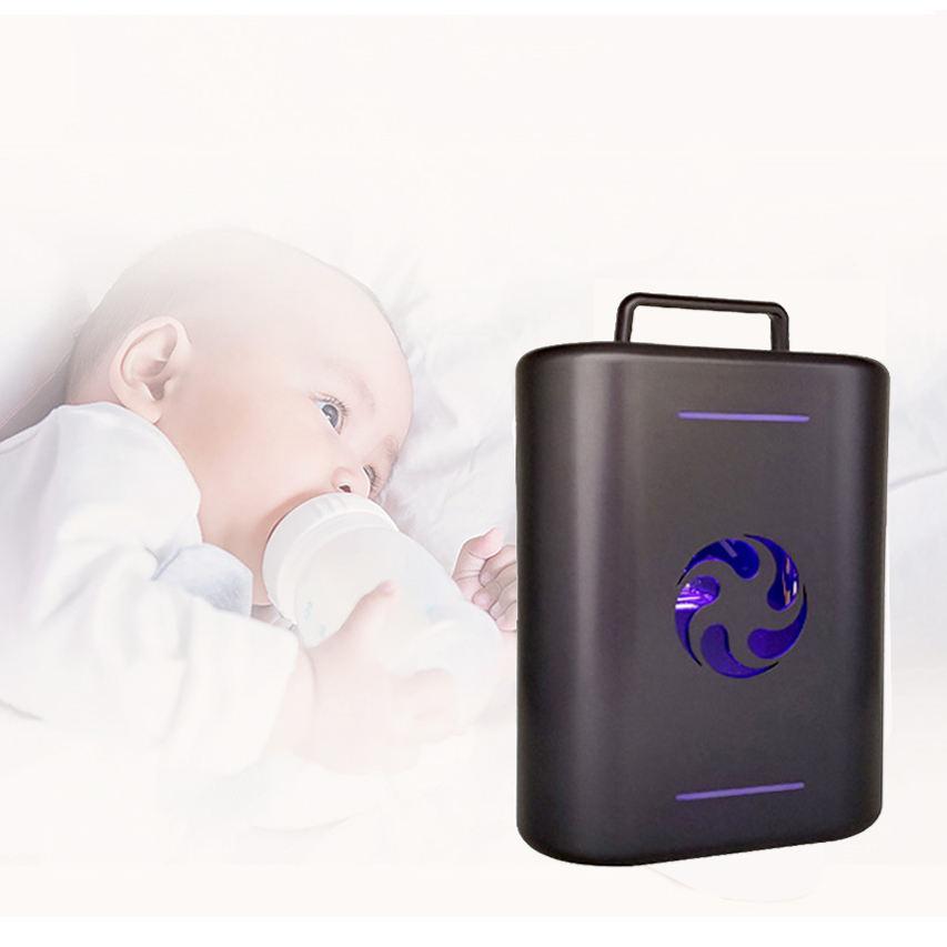 de moda atractivo diseño plegable portátil de desinfección uv esterilizador de caja 2020
