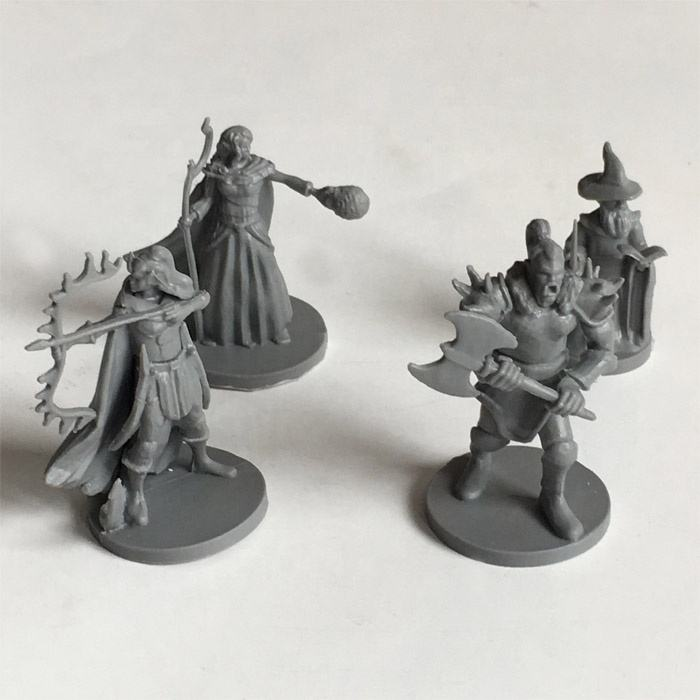 Custom design PVC board game miniature model figures