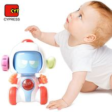 Multi-functional Change Face STEM Toys Robot Battle Robot With Light And Sound
