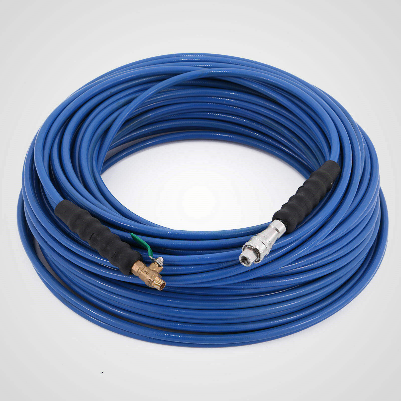 "Pressure Washer Hose Carpet Cleaning Hose 1//4/"" 75ft Hose Braided Polyester"