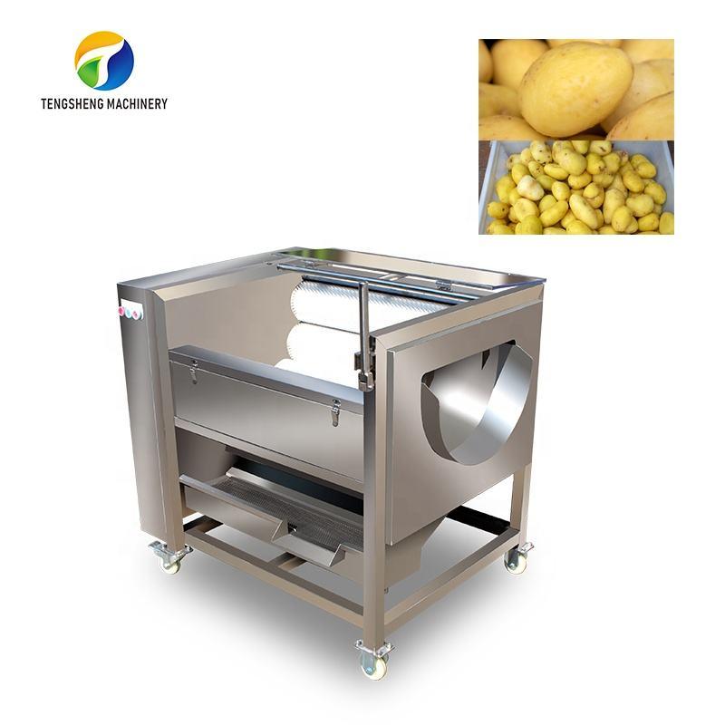 New condition potato cleaning and peeling machine electric potato peeler