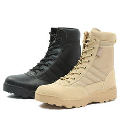 Men's special forces military boots outdoor casual combat boots high-top breathable tactical boots