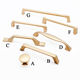 Kitchen Furniture Drawer Hardware Pull Rose Gold Cabinet Handles gold furniture handle