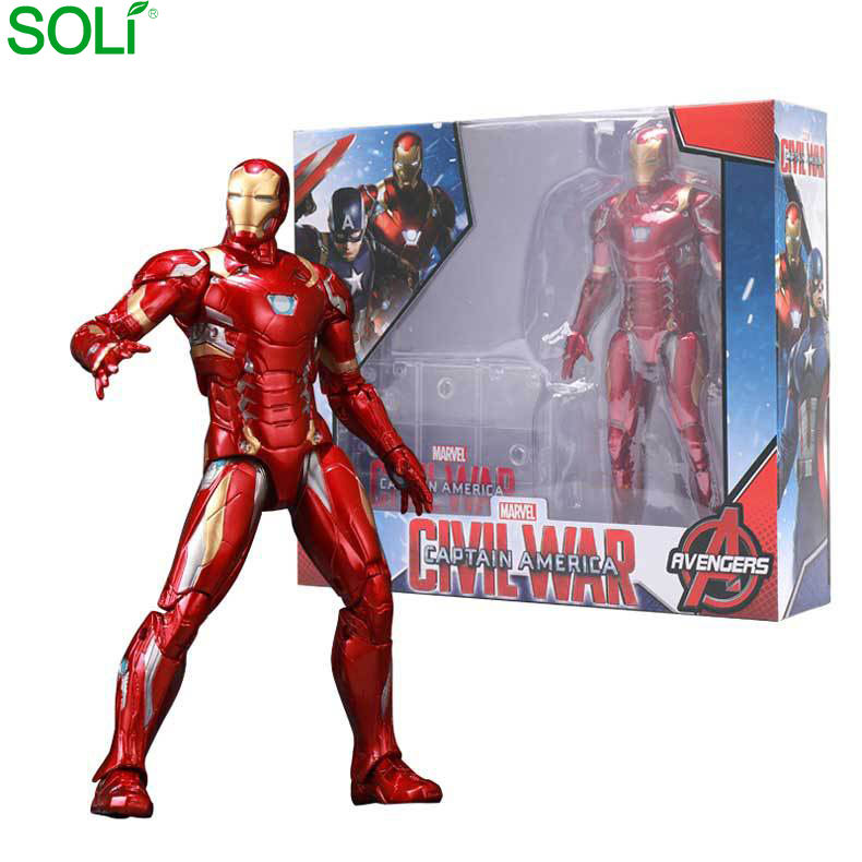 Oem Custom pvc resin factory price 20CM super hero marvel toys marvel action figure action figure marvel