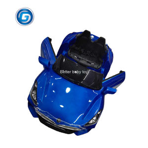 2020 New design kids electric car 2 motors powerful plastic toy wheel car for children