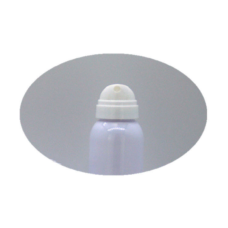 Wholesale 120ml 200ml high quality white PETG pressing super fine atomizing spray bottle round pump with transparent lid