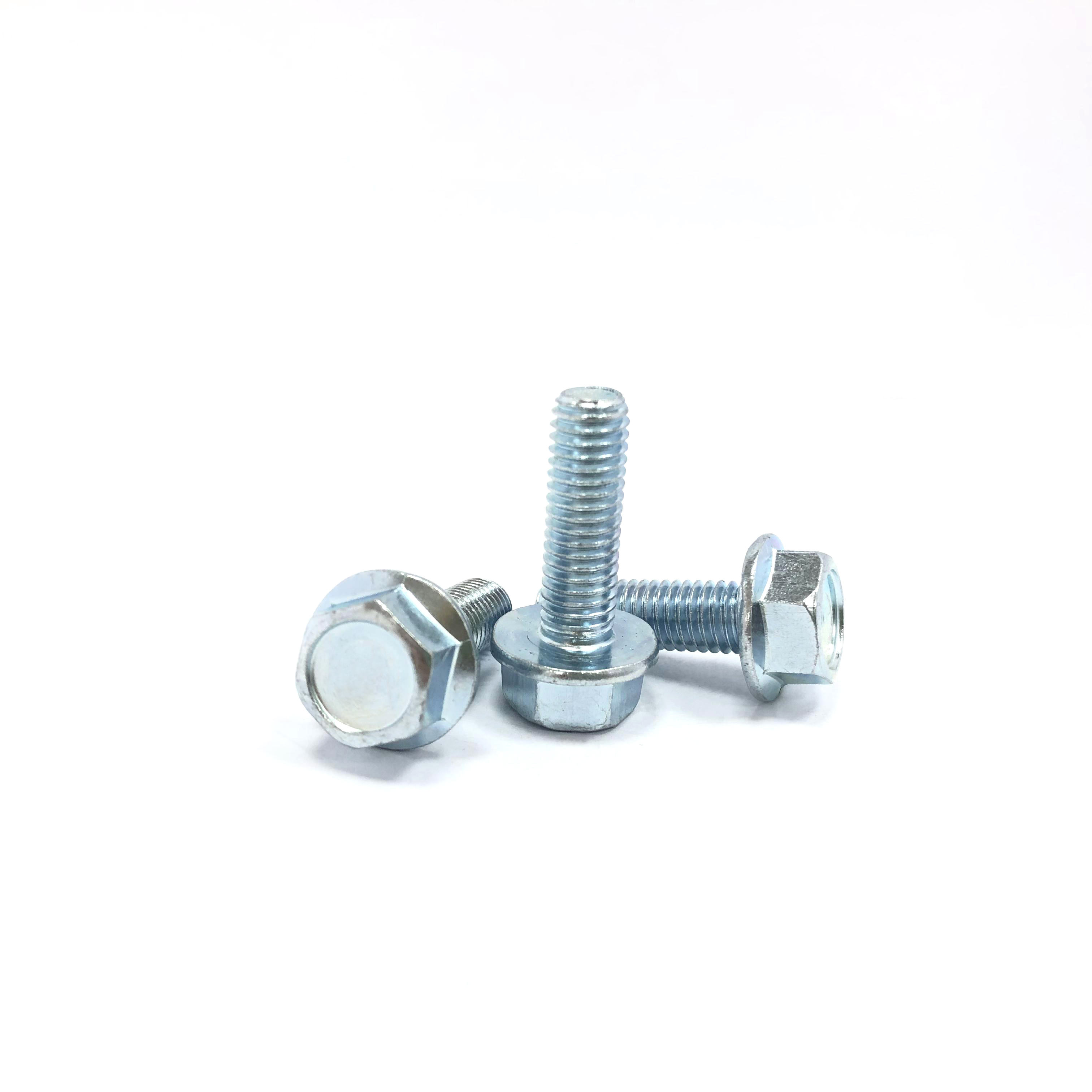 Good Quality Professional Production M6 M8 All Sizes Of Zinc Plate Bolt And Nut In Bolt