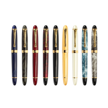 Wholesale Luxury Famous Brand Jumbo Pens Marble Paint Jinhao X450 Fountain Pen With Gift Pen Box