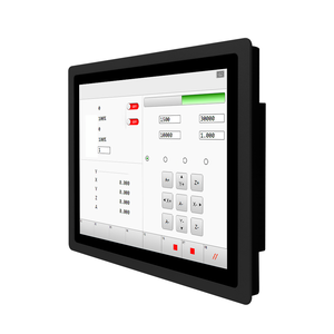 27 inch embedded waterproof IP65 PC i3 4G 128G COM USB hmi panel pc industrial touch screen monitor tablet