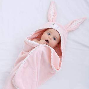 Hot Sale Factory Direct Poncho Bamboo Cotton Baby Animal Hooded Towel For Children