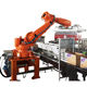 Automatic carton robot packing machine for coffee bean bag and black pepper package
