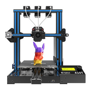Geeetech A10T 3 In 1 Impresora 3d 3d Metalen 3d Printers Machines Mix Kleur Prusa I3 3D Printer Met Triple extruder 3 In 1 Nozzle