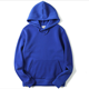 American Hot Selling Soft French Terry Blank Pullover Blue Hoodies