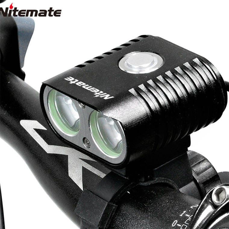 SG-K20 Best Selling Super Bright Bike Light Bicycle Headlight Lamp with Battery pack