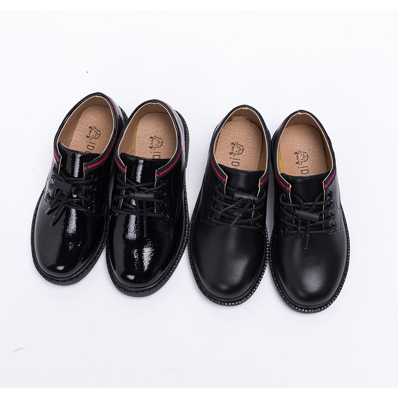 2020 children school leather shoes for boys and girls