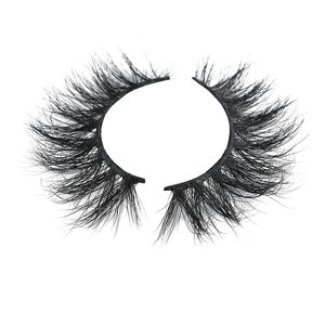 Worldbeauty One Dollar Eyelashes Invisible 3D Faux Mink bandless wholesale Lashes Private Label
