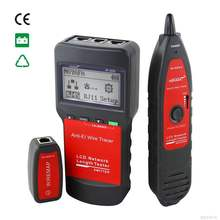 Noyafa NF-8200 network cable tester rj45 rj11 rj12 utp lan Cable RJ45 RJ11 length measuring instrument