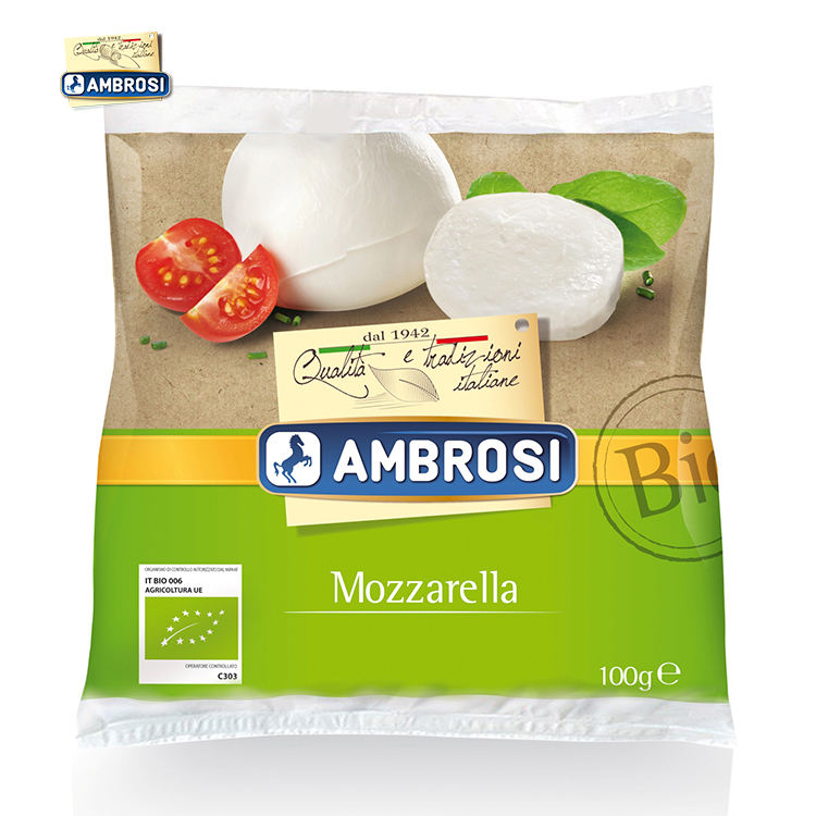 Made in Italy Best Quality 125g Packing Cheese Organic Mozzarella Cheese