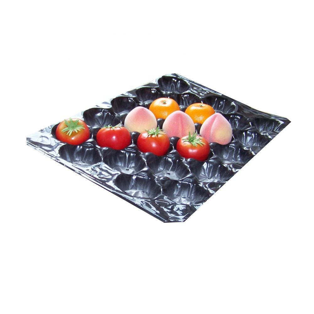 fruit packaging industrial use thermal fruit tray for peach packaging