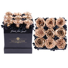 Wholesale A Grade 50 Colors alloy metal rose gold box Perfect Valentines Day Gift