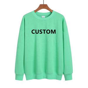 Custom Crewneck Sweater Sweatshirt Name and Number on Back Design Your Own Team Jersey