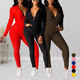 Latest Design Winter Women Tracksuit Set Causal Long Sleeve Hoodie Tracksuit Women