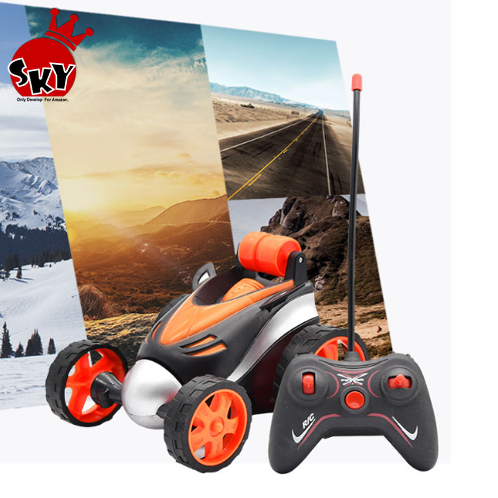 RC Stunt Cars Radio Control remote control Tumbling Cars Stunt Toys Buggy High speed Trucks Car Toys for Children