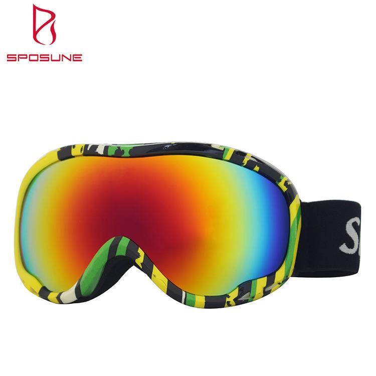 HB Pro CHILDREN/'S Skiing Snowboarding Goggles Anti-fog UV Glasses 7-15yrs