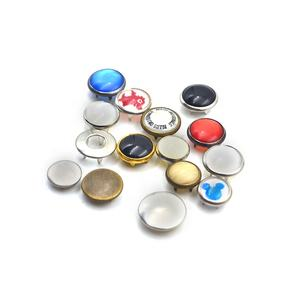 SK High Quality Oeko-Tex 100 Brass Metal Pearl Color Ring Prong Snap fastener Button For Clothes