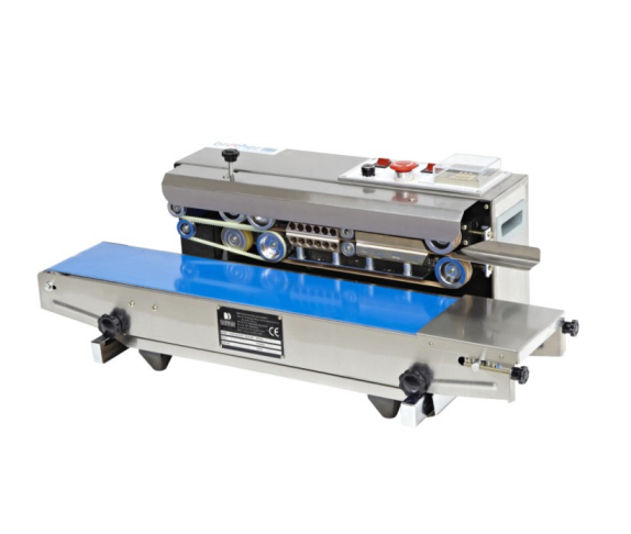 Best price SF150W Desktop automatic horizontal continuous plastic bags band electric sealer