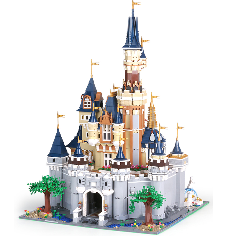 [Amazon Hot] 8388 шт Legoingly Architecture Bricks Legoingly Disneyingly Castle Series Building Blocks Set