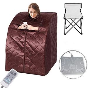 Durasage Lightweight Portable Personal Steam Sauna Spa for Weight Loss