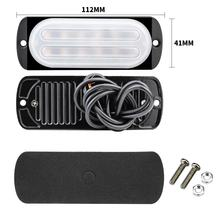 DXZ 12V-24V Strobe lights 12Leds 36W Ultra-th Multi-mode Flash Side lights  Led Lamp Truck SUV Pick Up Car Accessories