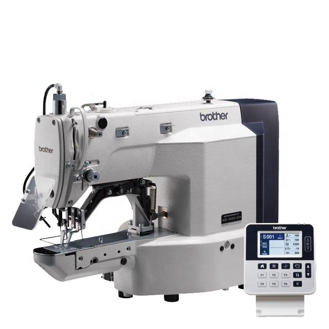 High Speed Brother 430hx Electronic Direct Drive Lockstitch Bartacking Sewing Machine