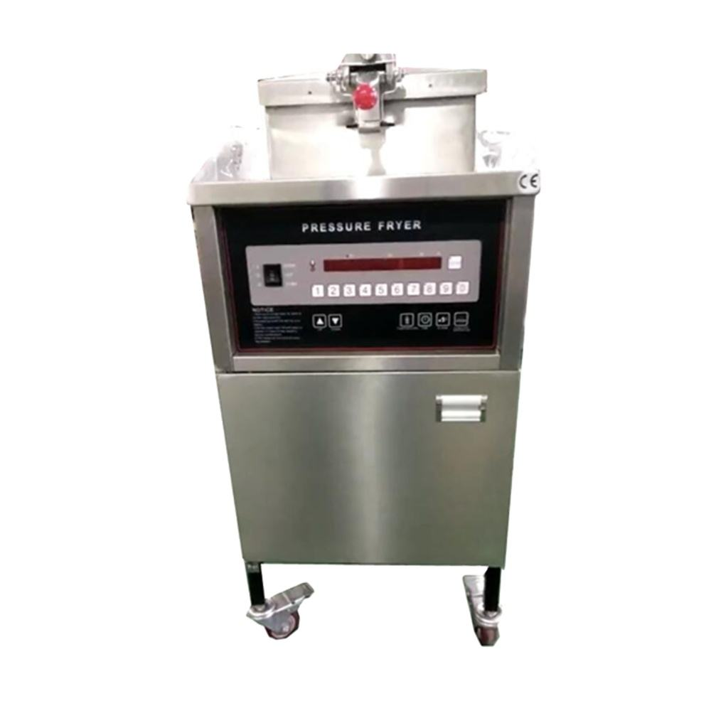 henny penny computron 8000 commercial deep gas/electric pressure fryer