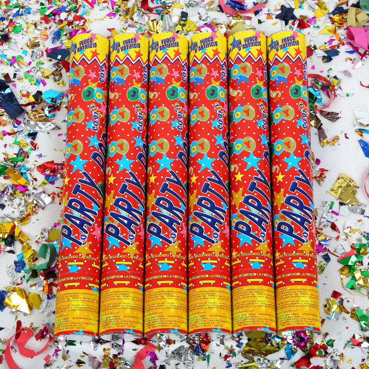 Event Party Supplies Compressed Air Confetti Manufacturer Cannons