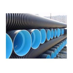 HDPE 18'' 20'' DIAMETER CORRUGATED DRAINAGE PIPE LARGE PLASTIC ROAD CULVERT PIPE