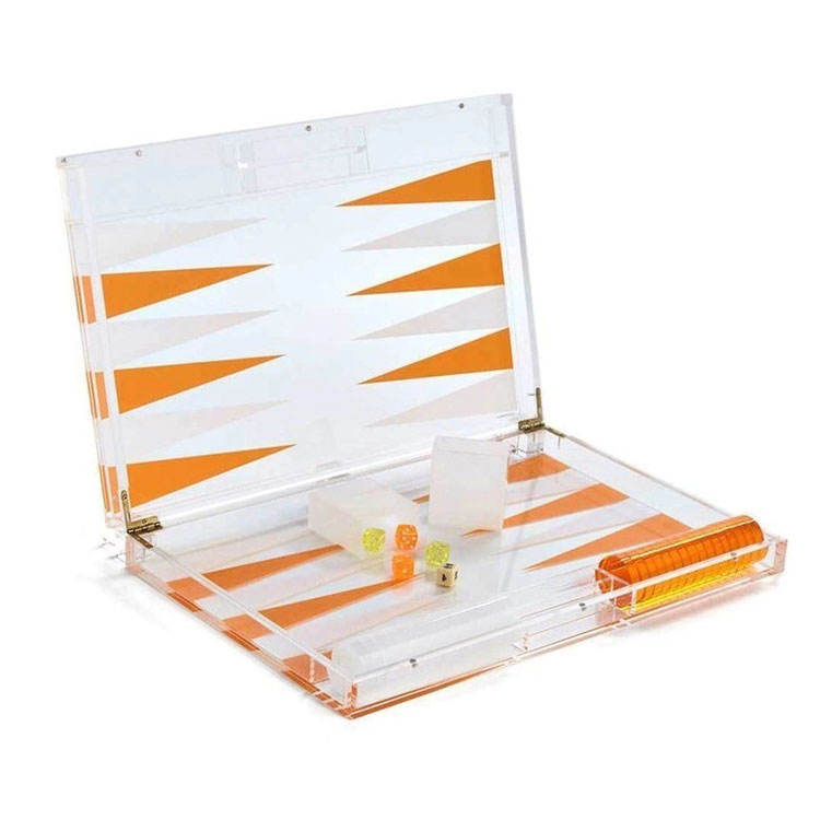 Jayi Plexiglas Factory Custom Acryl Backgammon Chips