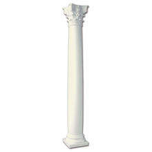 Banruo Plastic Romantic White Pillar Wedding columns PULM20*235cm-2-AY