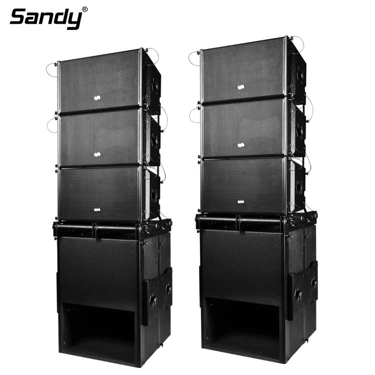 China line array sonorisation 10 inch powered line array