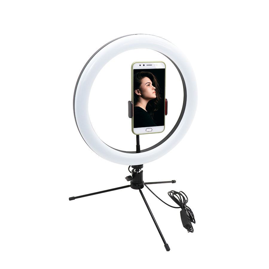 Suplier価格12インチledライト写真tripie para celular kit ph oto studio for makeup/youtube video