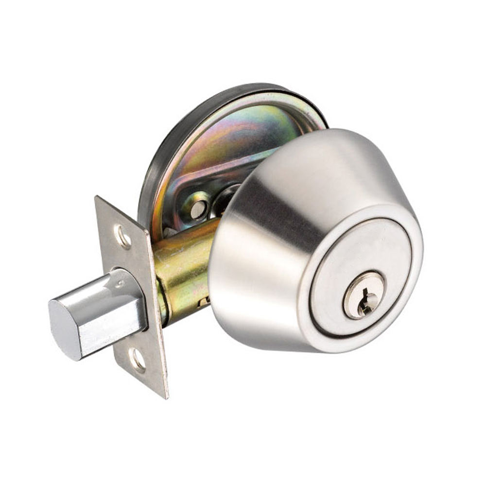 One-Stop Service [ Double Deadbolt ] Deadbolt Lock European Double Sided Washroom Bathroom Small Door Deadbolt Lock Knob With Low Price