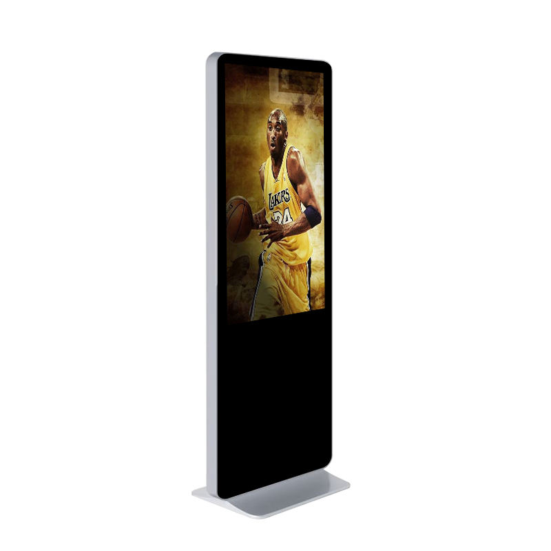 Da pavimento a cristalli liquidi cassa del metallo di tocco dello schermo interattivo solare del telefono mobile di ricarica chiosco