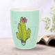 Hot Selling in Russia New Bone China Floral Ceramic Mugs 350ml Ceramic Decal Mugs for Coffee